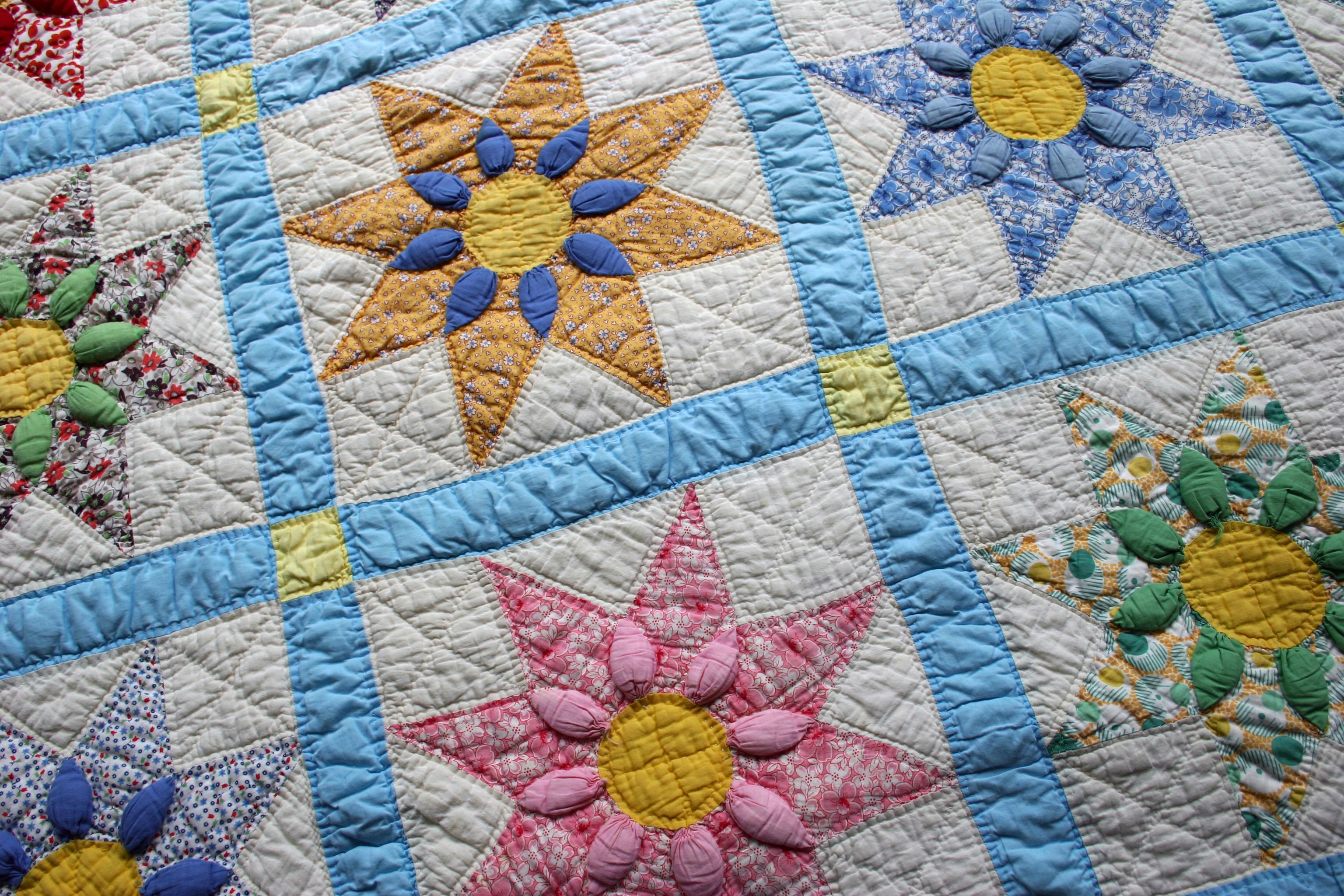 Easy Double Four Patch Rag Quilt Pattern : how to patch a quilt - Adamdwight.com