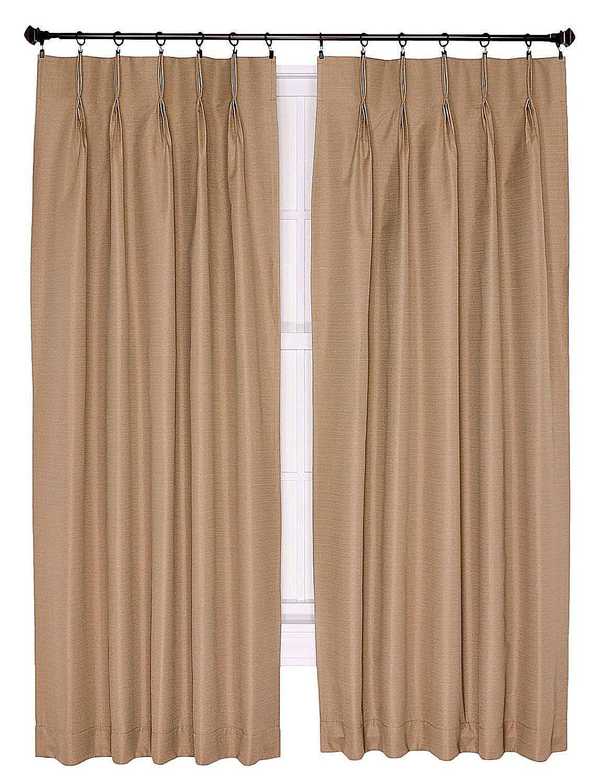 Window Curtain Types 4 popular curtain and drape panel styles