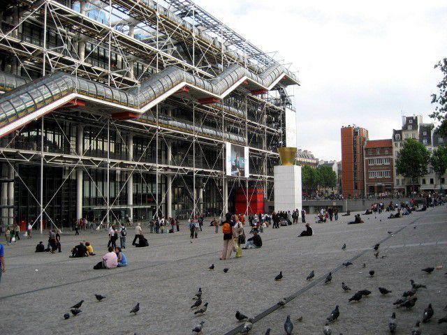 The Centre Georges Pompidou remains a staple of Parisian cultural life.