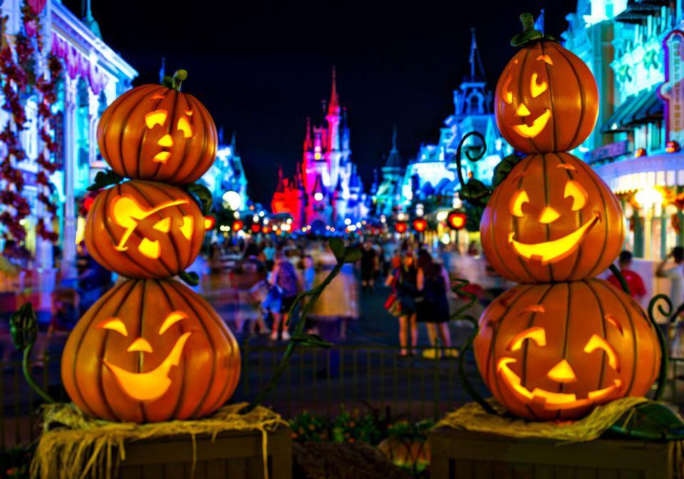 Halloween on Main Street USA Disney World
