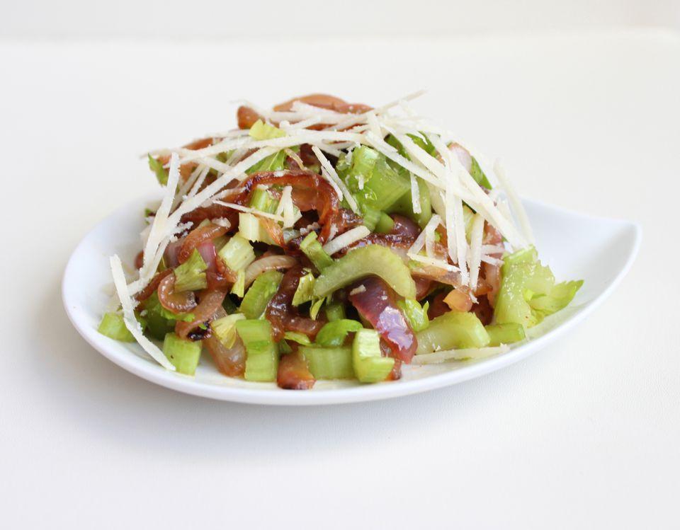 Celery Red Onion Salad
