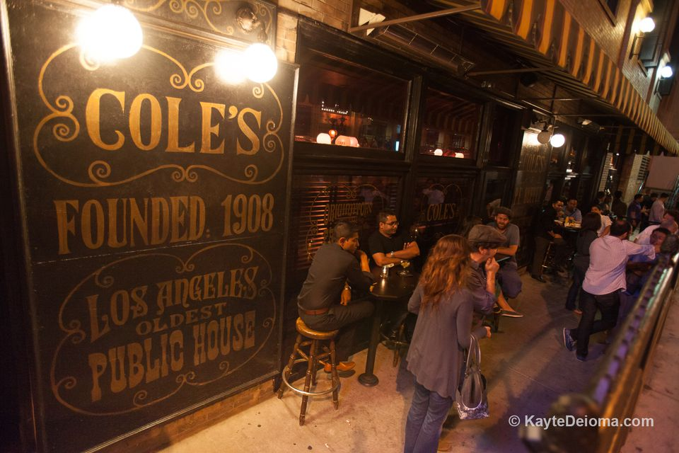 Cole's Restaurant in Downtown LA