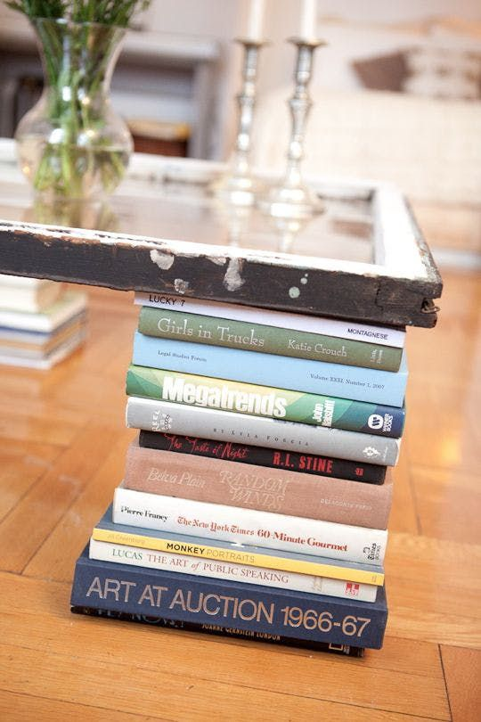 coffee table book display
