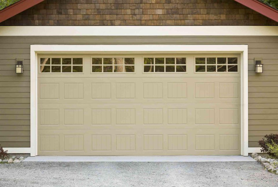 in garage replacement old new door portage summit before installation doors counties and
