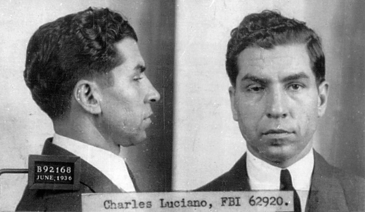 Young Charles Lucky Luciano
