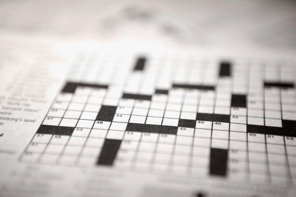 crossword puzzle grid