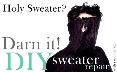 How to Fix Holes in a Sweater