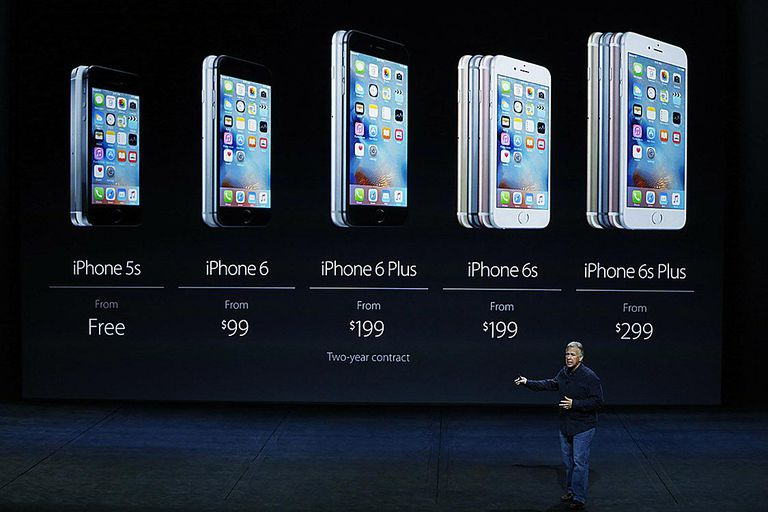 The Current IPhone Lineup 5S 6 And 6S Image Credit Stephen Lam Getty Images News