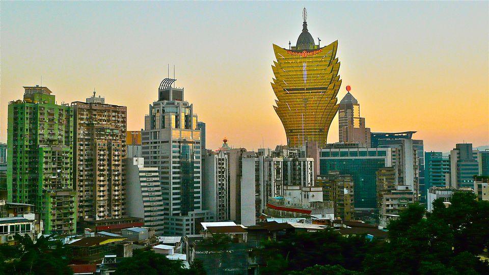 Macau Skyline & Grand Lisboa