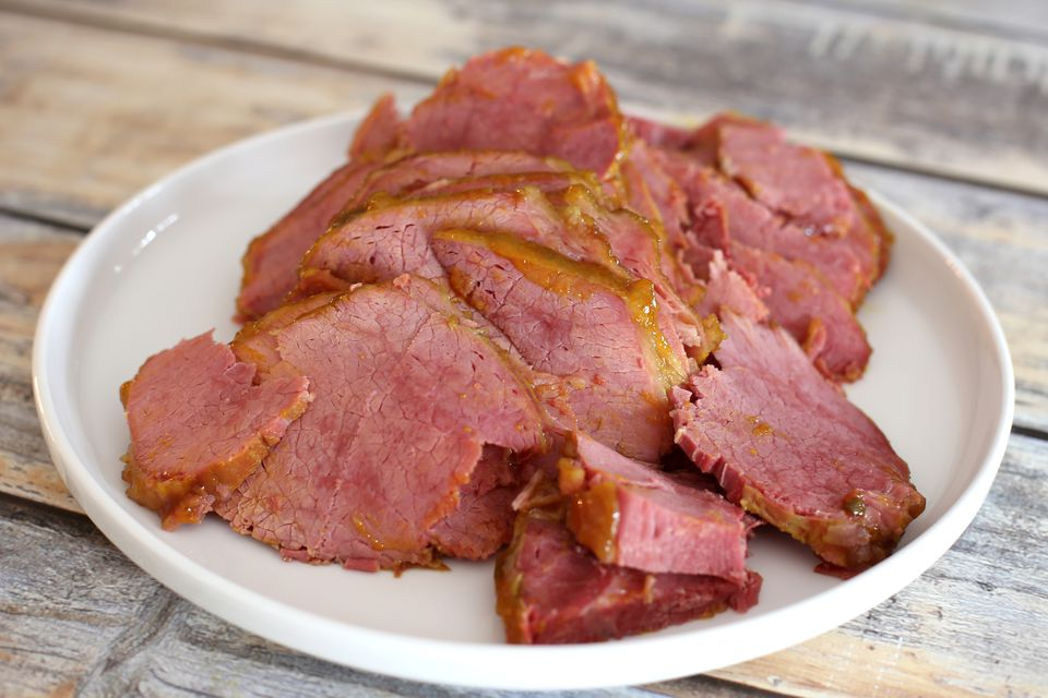 Corned Beef Round, Cooked and Sliced