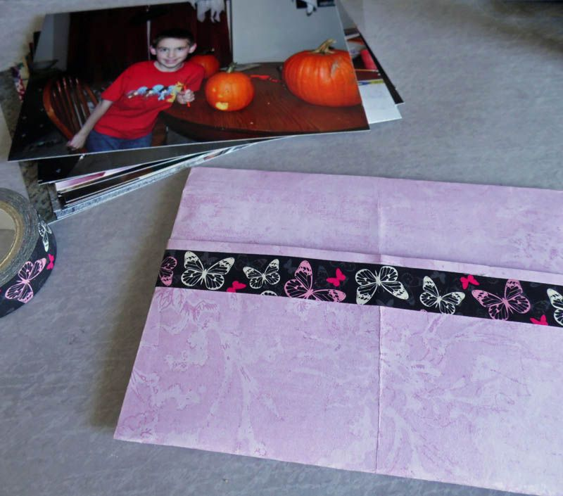 origami photo envelope