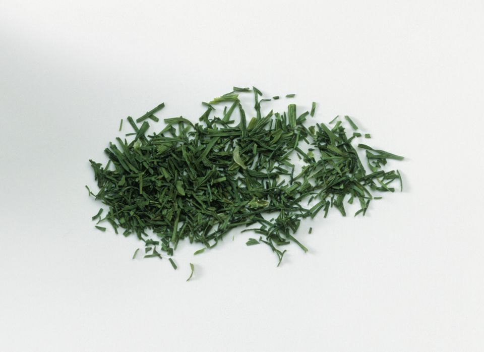 Heap of chopped dill