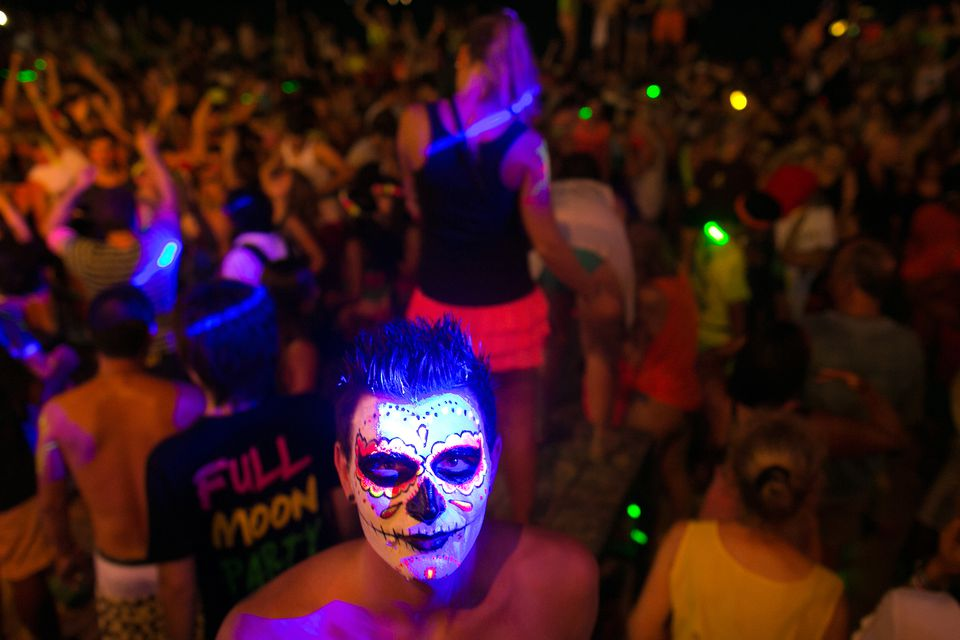 Drugs in Thailand Full Moon Party