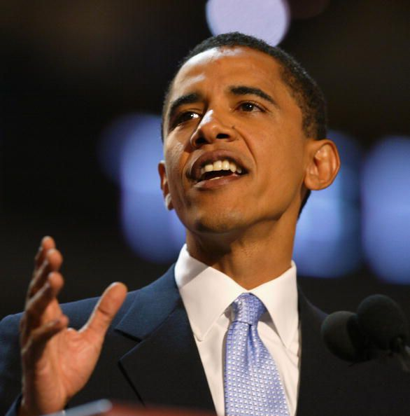 Barack Obama at 2004 Democratic Convention