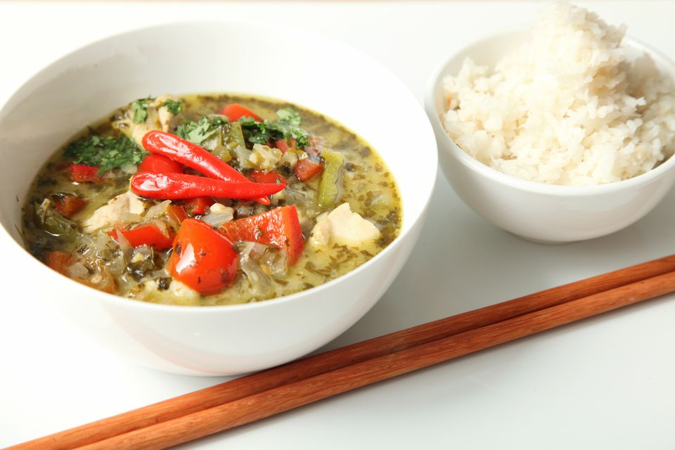 Thai Green Curry From Scratch