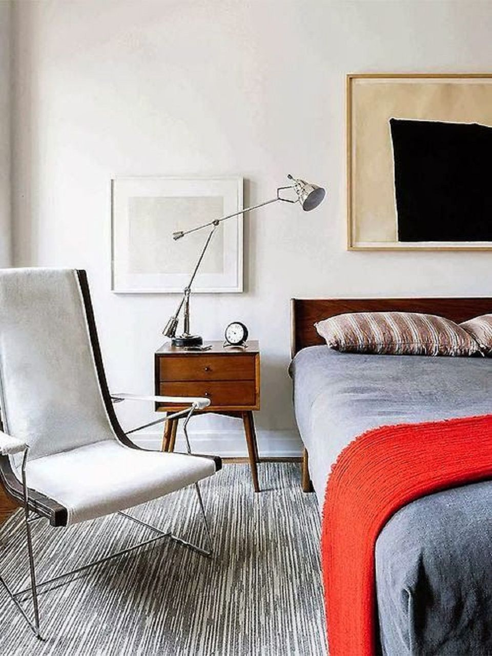 Midcentury modern bedroom decorating ideas Mid century modern design ideas