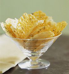 Frico cheese crisps