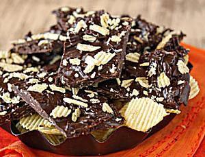 Potato Chip Chocolate Bark