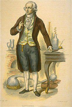 Antoine-Laurent Lavoisier (1743 - 1794)