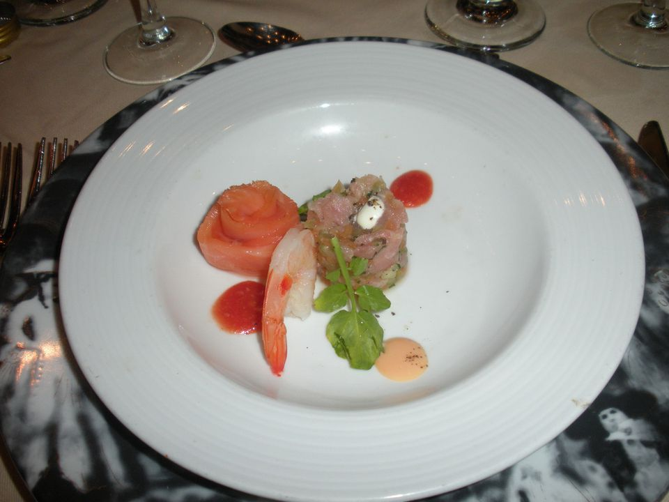 Carnival Liberty Dining - appetizer