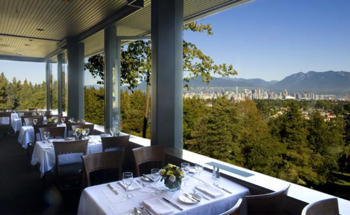 View from Seasons in the Park restaurant