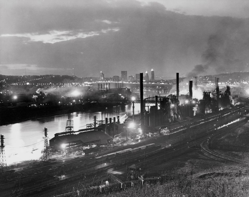 Jones & Laughlin Steel Mill Pittsburgh Pennsylvania USA