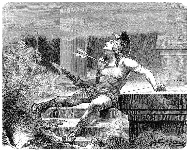 Alcibiades killed by assassins
