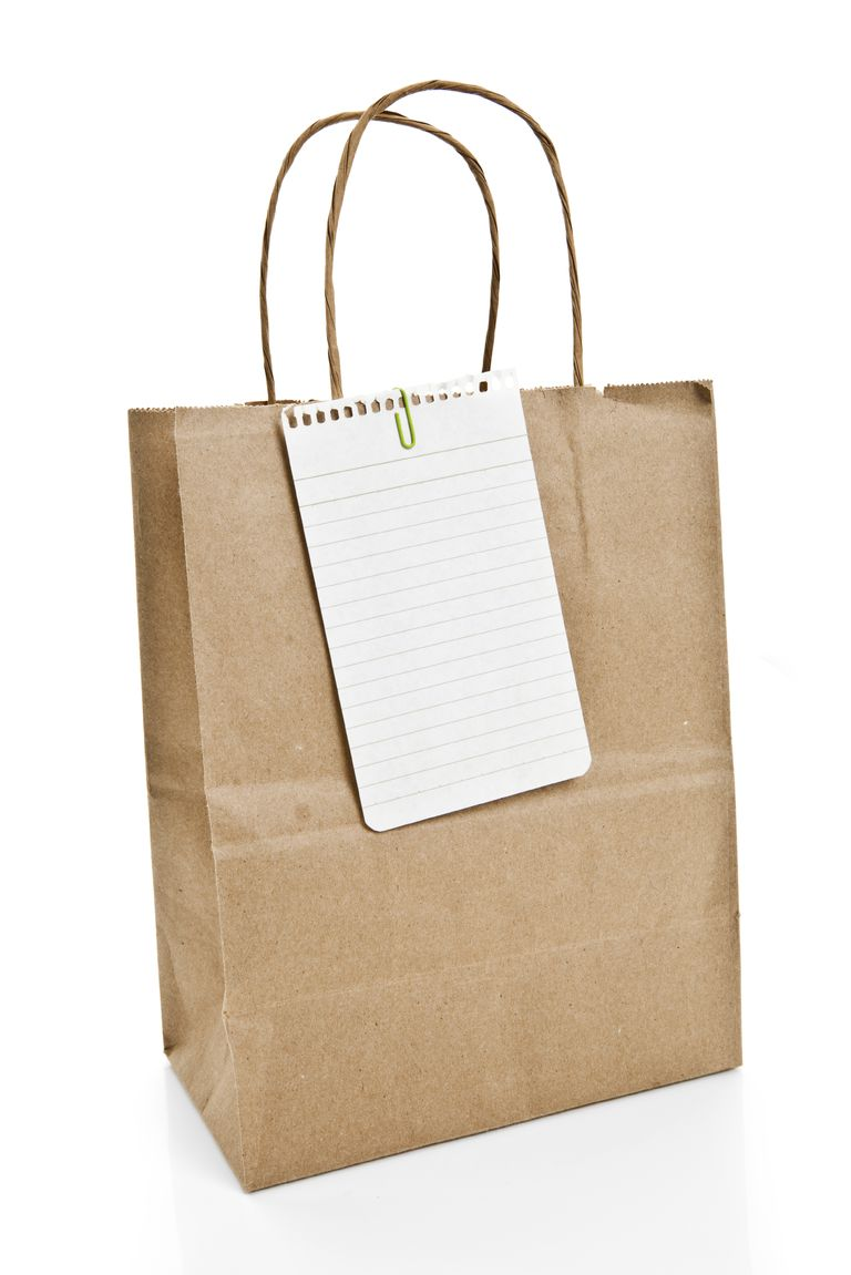 Tote and list of what to bring to chemo