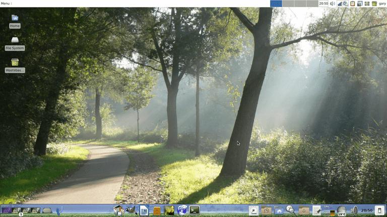Custom Debian Desktop
