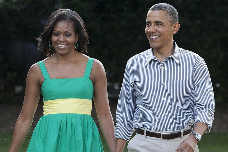 Obama Delivers Remarks At Congressional Picnic