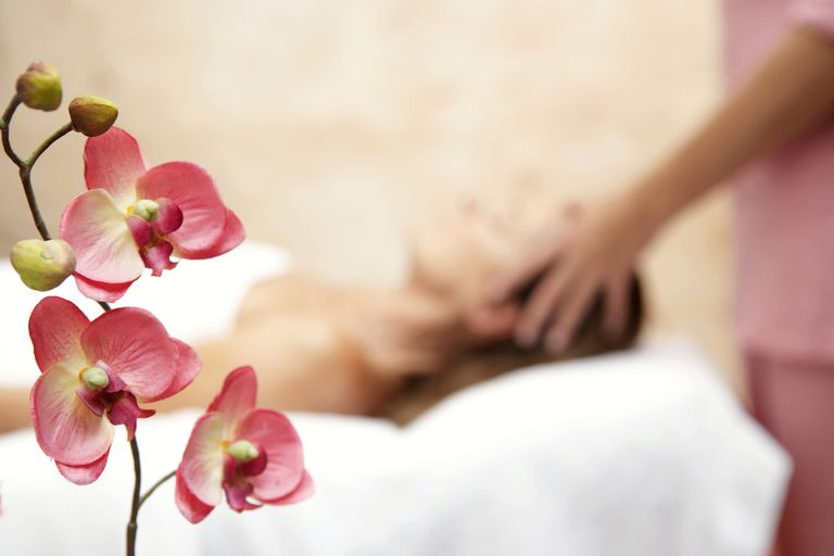 Massage / Pink Orchids