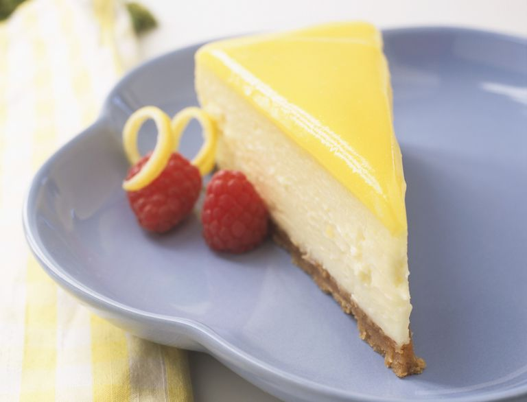 low-carb lemon cheesecake