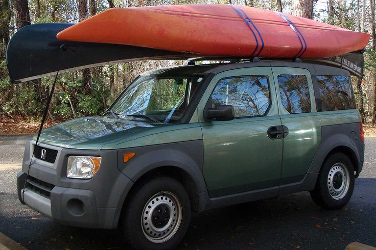 How To Strap A Canoe Or Kayak To A Roof Rack