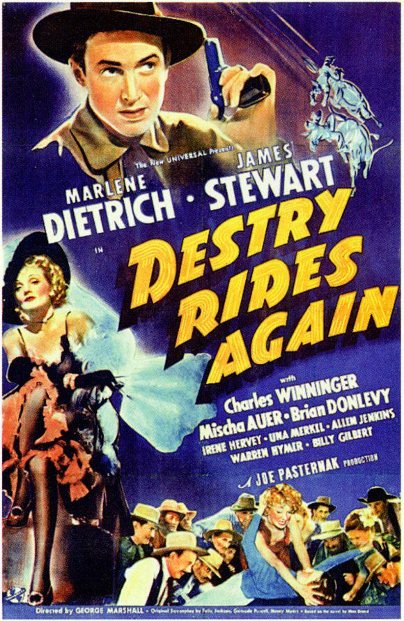 Destry Rides Again Movie Poster