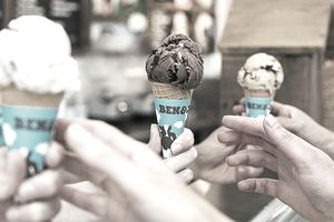 Free Cone Day at Ben & Jerry's.