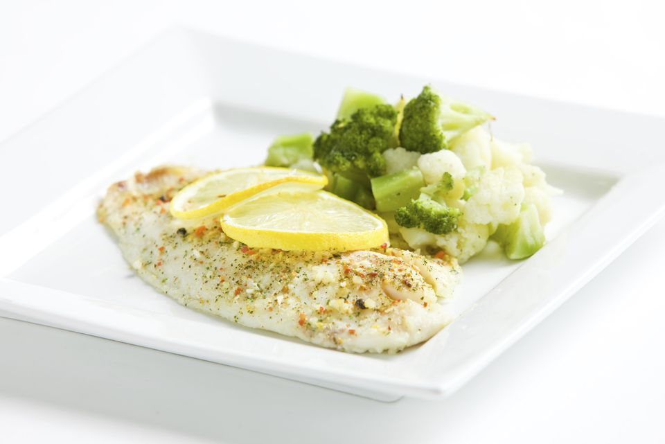 lemon and herb tilapia