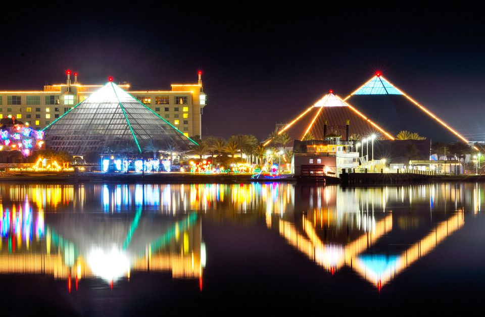 Moody Gardens Festival of Lights in Galveston, Texas