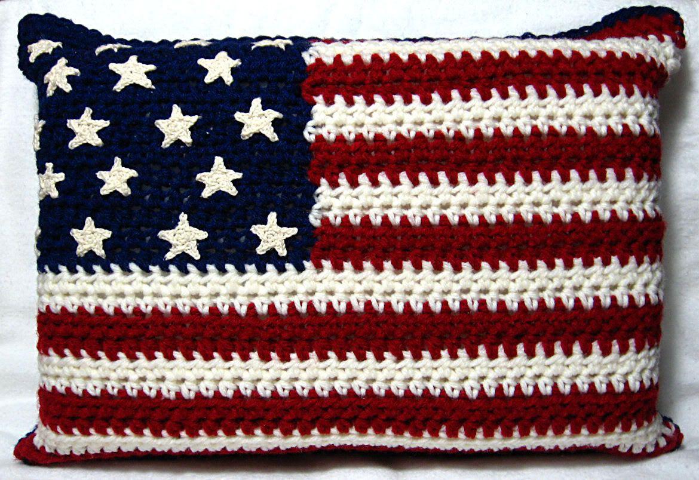 Crochet american flag free patterns bankloansurffo Gallery