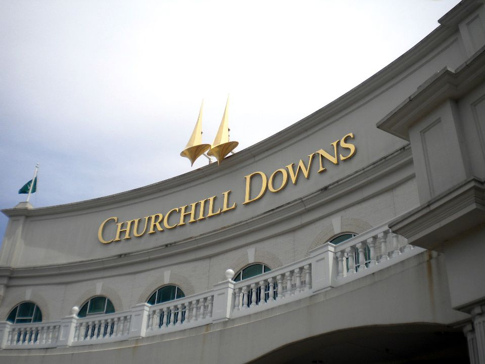 Churchill Downs in Louisville, KY