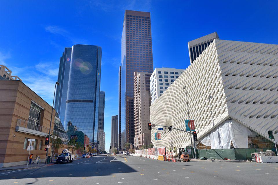 Los Angeles, New contemporary art museum