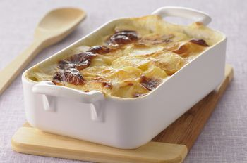 How To Make Creamy Scalloped Potatoes With Ham