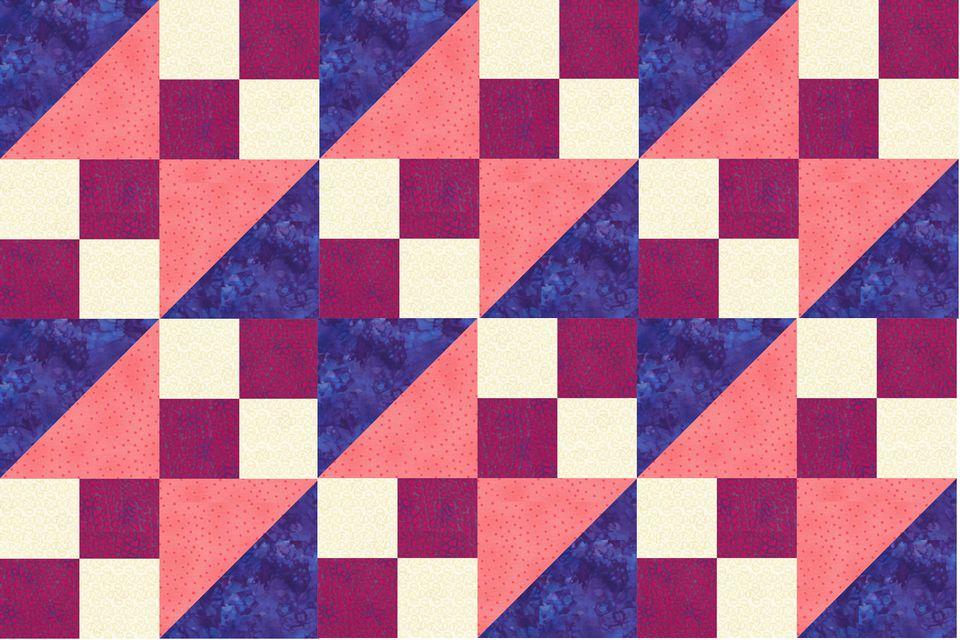 10 Quot Buckeye Beauty Quilt Block Pattern