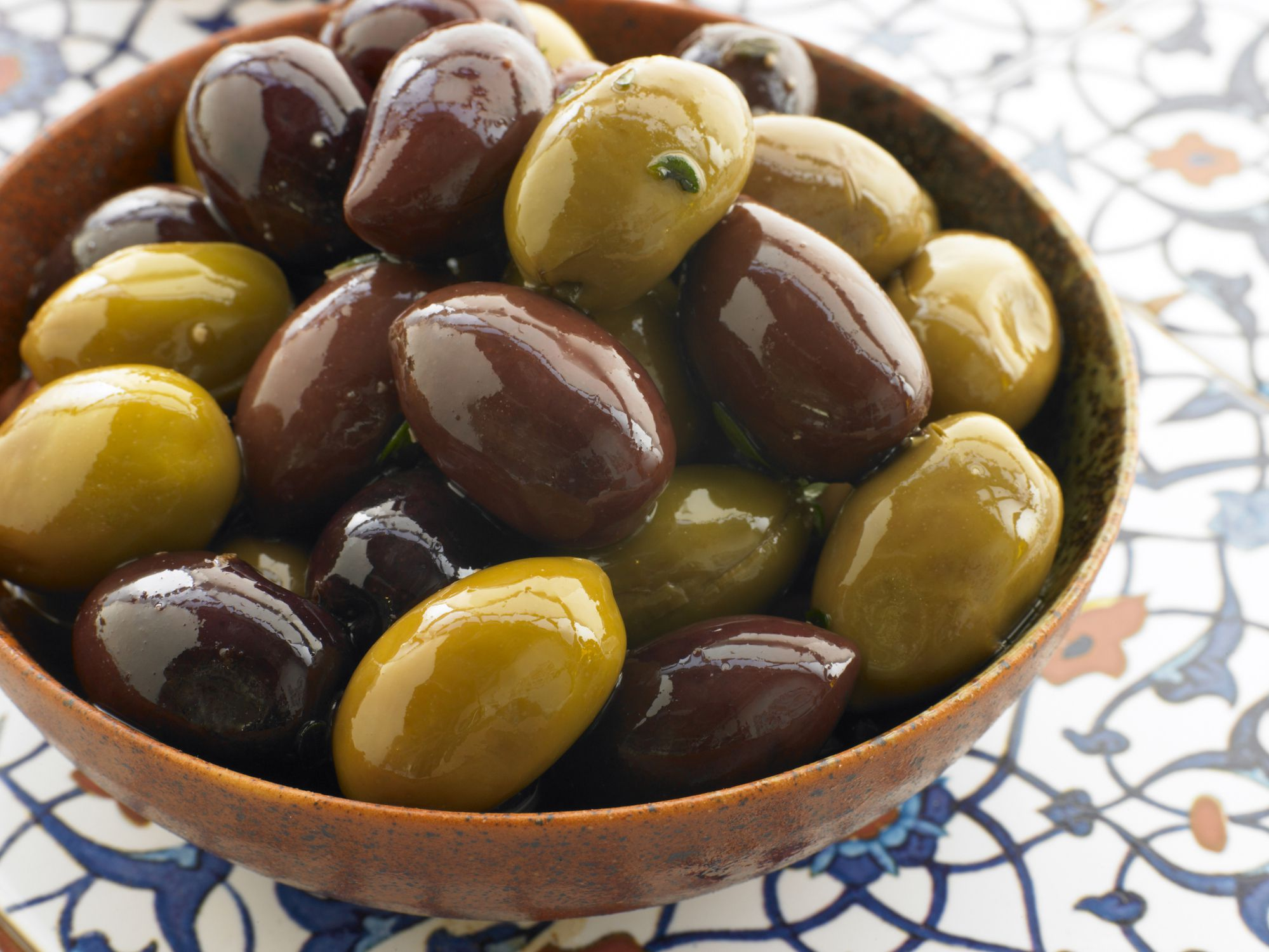 Greek-Style Ripe Olives Recipe