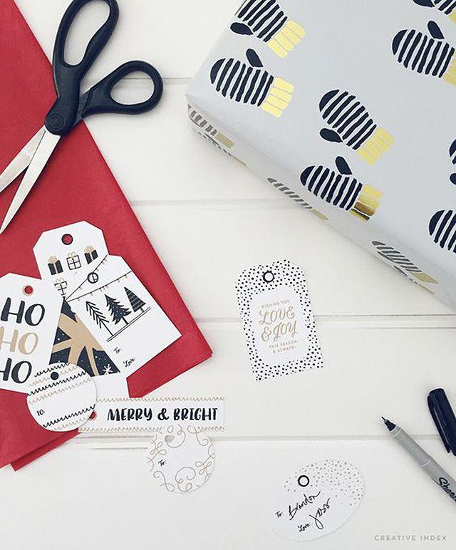 DIY Printable Christmas Gift Tags