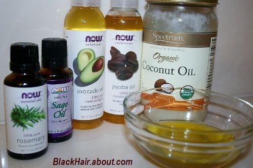 Ingredients for oil blend
