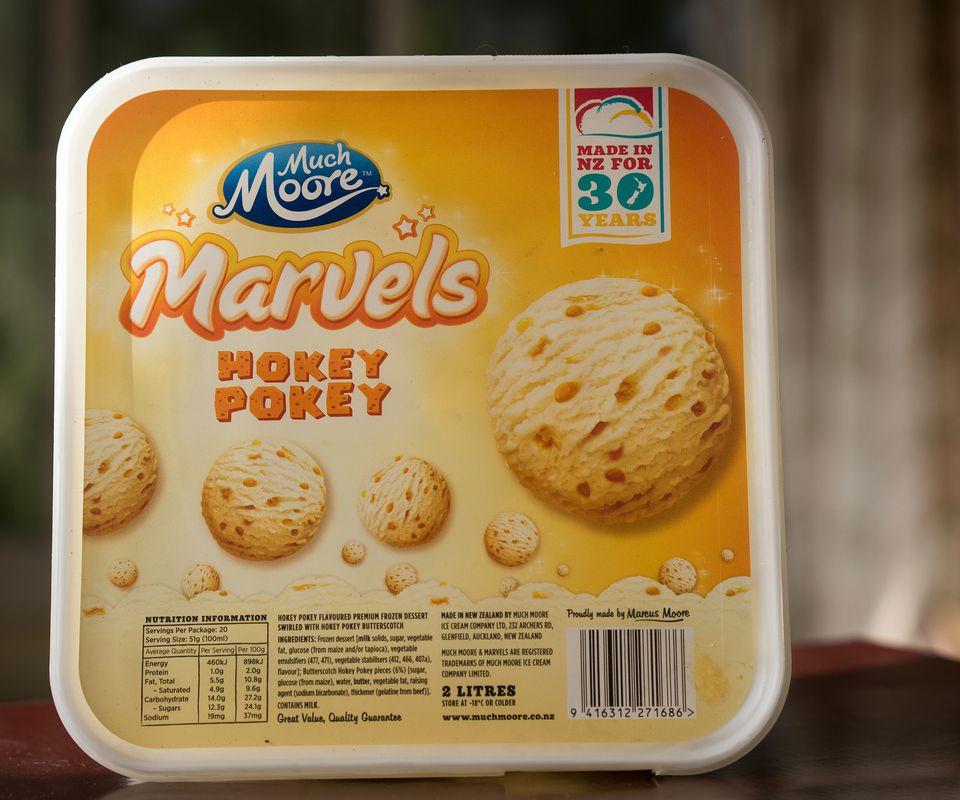 Store Bought Hokey Poke Ice Cream