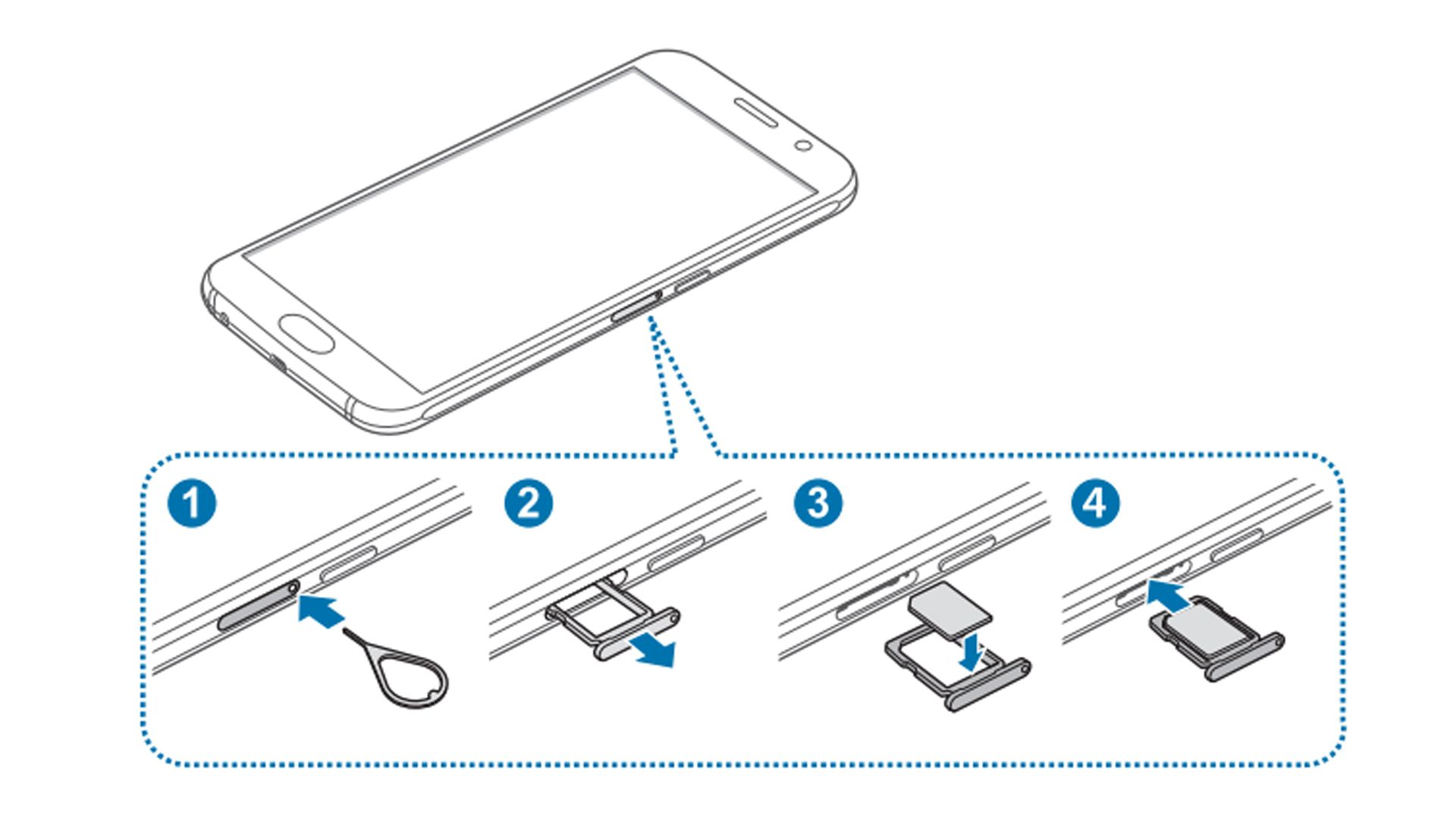 how to open the sim card slot on iphone 5s sim cards on your galaxy s6 or s6 edge 21517