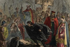 """an analysis of the death of cordelia in the play king lear by william shakespeare Many characters in king lear make broad general statements about the human condition all but one such statement either conflict with the action of the play or exceed the evidence it affords admonishing gloucester to keep up his spirits after lear and cordelia have been defeated in battle, edgar declares, """"men must."""