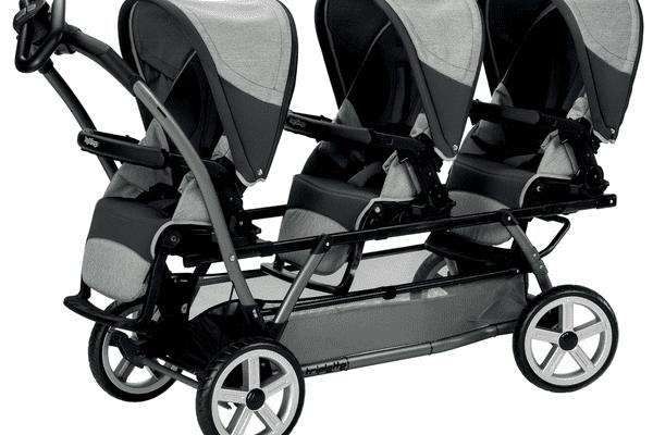 Peg Perego Triplette triple stroller