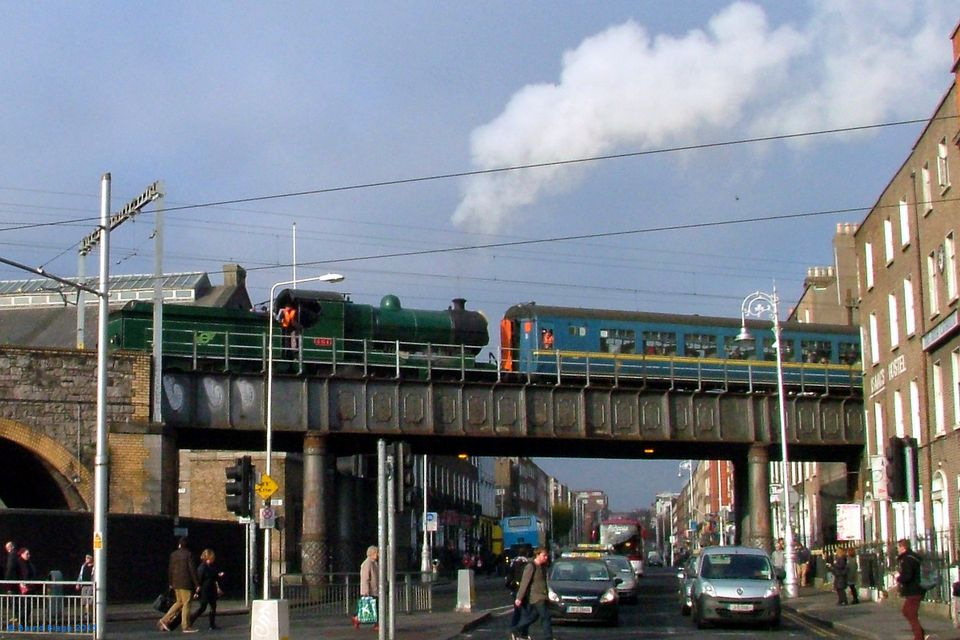 Free rides on the steam train to Drogheda? Don't be an April Fool in Ireland, you muppet!